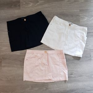 Mango Basics Set Of 3 Mini Skirts